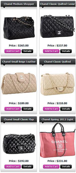 Chanel Flap Shopper Classic Replica
