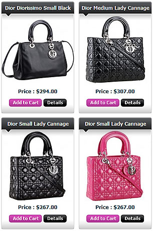 Dior replica handbags